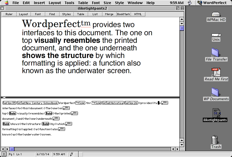 what is the latest version of wordperfect